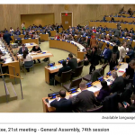 United Nations Budget 2020: Fifth Committee debate on 27 December 2019 (live blogging)